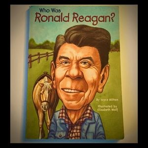 Other - Who Was Ronald Reagan? by Joyce Milton (Kids Book)